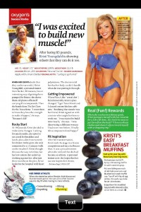 Kristi Youngdahl Oxygen July 2011 Future of Fitness
