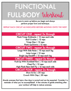 Inspired Fitness Full-Bocy Workout